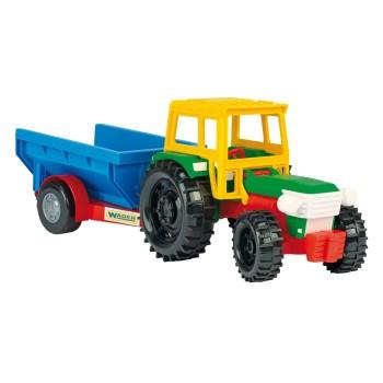 Traktor z wywrotką
