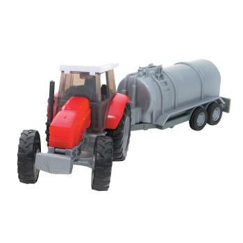 Traktor z naczepą