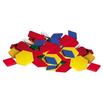 Wiaderko mozaiki kształtów