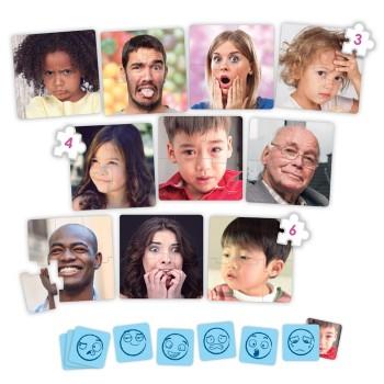 Puzzle z ikonami - Emocje