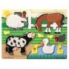 Puzzle dotykowe - Farma