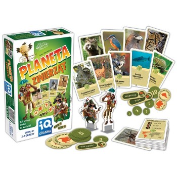 Planeta zwierząt - gra