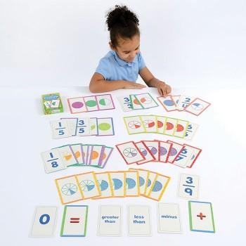 Karty ułamkowe - 54 karty