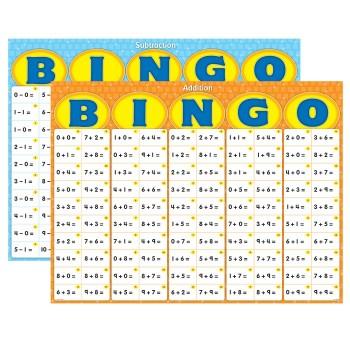 Bingo - zestaw klasowy - dodawanie i odejmowanie