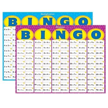 Bingo - zestaw klasowy - mnożenie i dzielenie