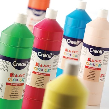 Farby plakatowe 1000 ml turkusowa