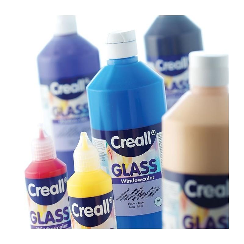 Farby do malowania na szkle 80 ml biała