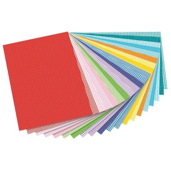Zestaw papierów z motywami