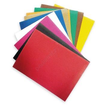 Tektura falista - mix kolorów