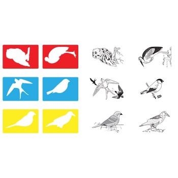 Szablony Ptaki