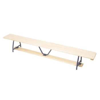 Ławka gimnastyczna metalowe nogi - 4 m