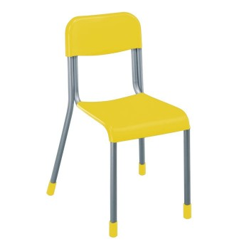 Krzesełko szkolne plastikowe RS - roz. 4