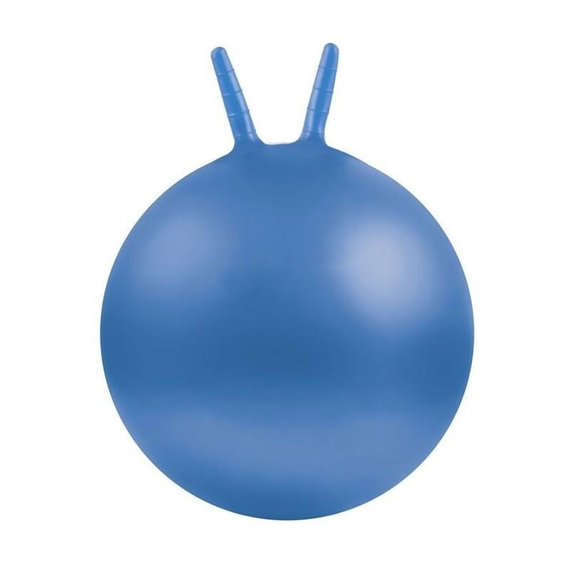 Piłki z rogami Ø 45 cm niebieska