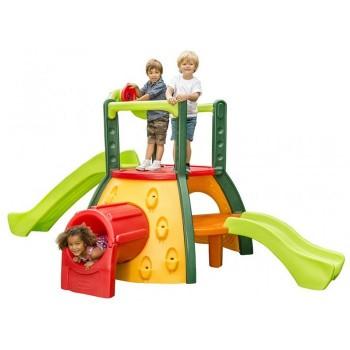 Super Małpi Gaj - Plac Zabaw + Zjeżdżalnia