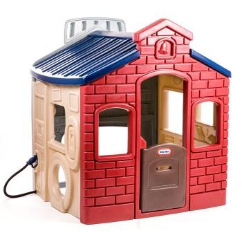 Miejski domek - czerwony