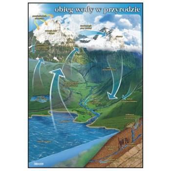 Plansza - Obieg wody w przyrodzie