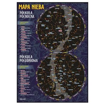 Plansza - Geografia - Mapa nieba