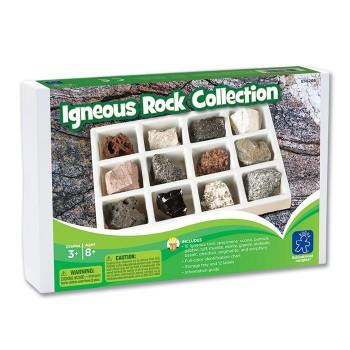 Kolekcja skał wulkanicznych