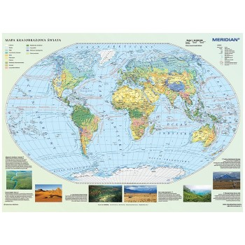 Mapa krajobrazowa Świata
