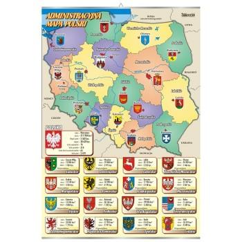 Plansza - Administracyjna mapa Polski