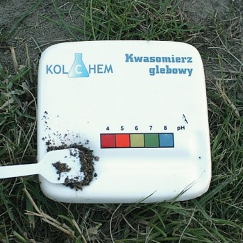 Kwasomierz glebowy