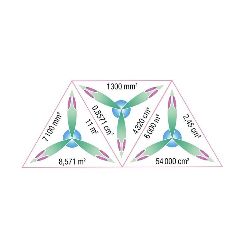 Schubitrix - pomiary - powierzchnia