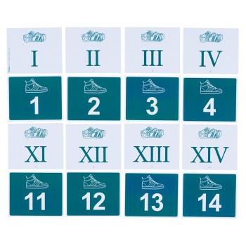 Liczby rzymskie i arabskie - od 1 do 20