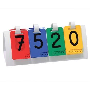 Karty liczbowe do systemu dziesiętnego