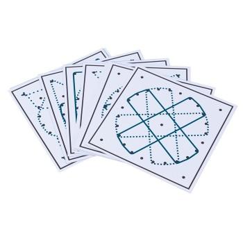 Karty zadań Geoplan - okrąg