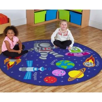 Dywan dekoracyjny - Kosmos