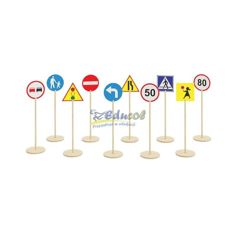 Znaki drogowe - Zestaw II