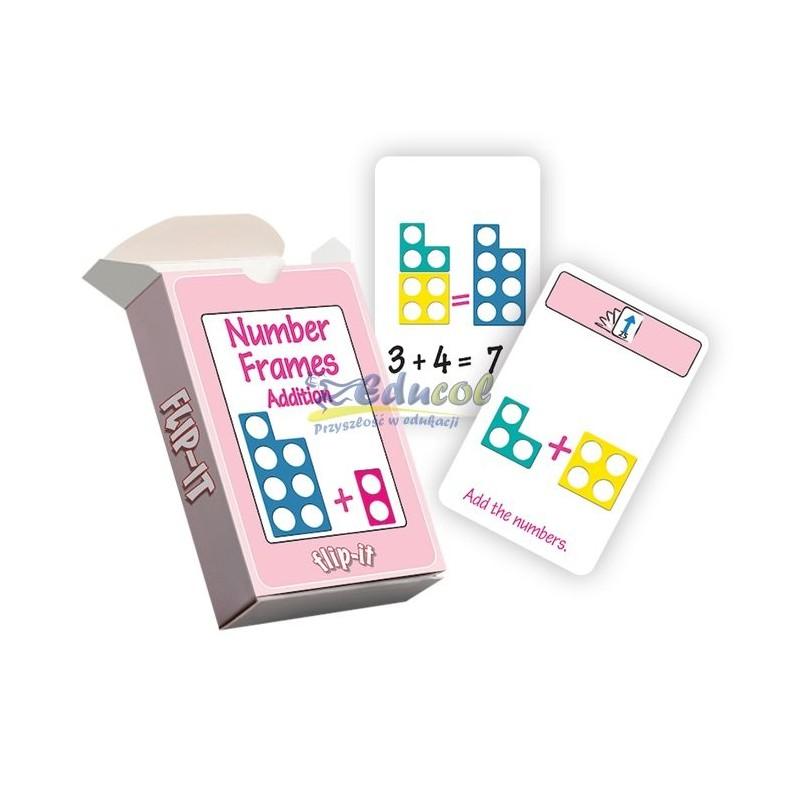 Numicon karty - dodawanie