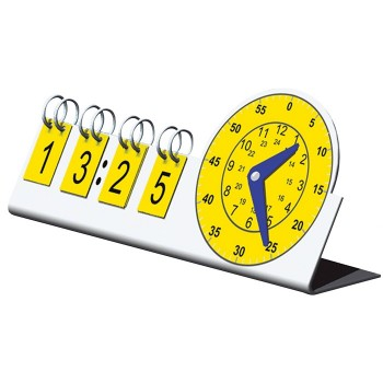 Zegar analogowo - cyfrowy