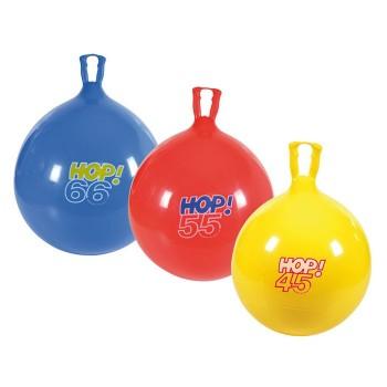 Piłki skaczące Hop Ø 45 cm - żółta