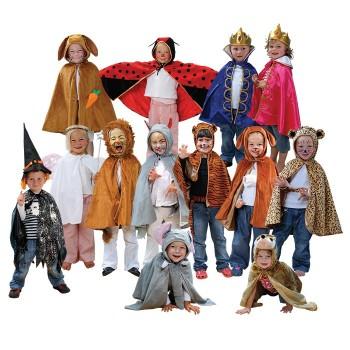 Komplet 13 kostiumów
