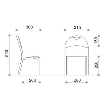 Krzesło MW - nr 1