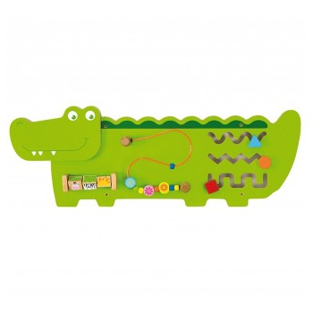 Sensoryczna tablica manipulacyjna - Krokodyl