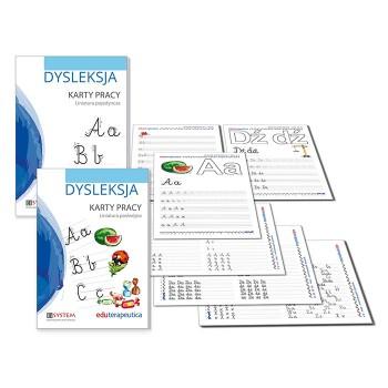 Eduterapeutica Dysleksja - karty pracy