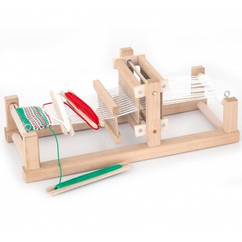 Drewniany zestaw do tkania