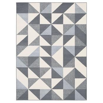 Trójkąty grafitowe - dywan