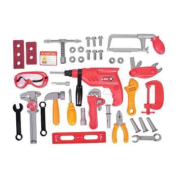 Duży zestaw narzędzi - 40 elem.
