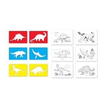 Szablony Dinozaury