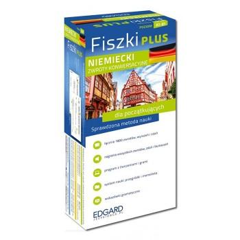 Niemiecki Fiszki PLUS Zwroty konwersacyjne dla początkujących