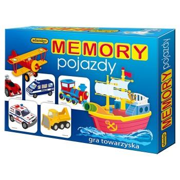 Memory pojazdy - gra towarzyska Adamigo