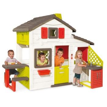 Duży domek ogrodowy dla dzieci - Kuchnia + Akcesoria