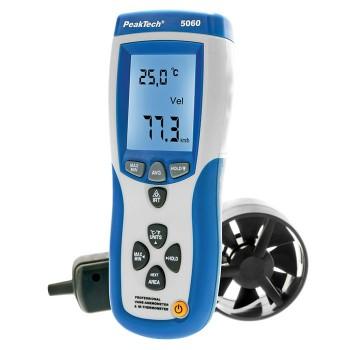 Anemometr - Miernik wiatru z USB i termometr