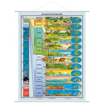 Geologiczna historia Ziemi - plansza