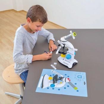 Edukacyjne naklejki - mikroskop