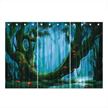 Kurtyna teatralna - Zaczarowany las