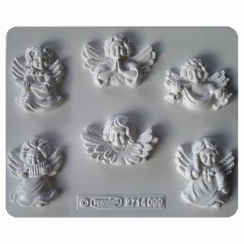 Oryginalna forma do odlewów gipsowych - Aniołki